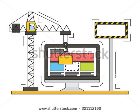 stock-vector-thin-line-flat-design-of-website-under-construction-web-page-building-process-modern-vector-321112190